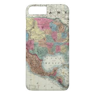 Karte der Vereinigten Staaten, Kanada, Mexiko iPhone 8 Plus/7 Plus Hülle
