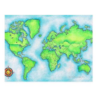 Karte der Welt 15