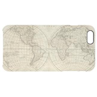 Karte der Welt 2 Durchsichtige iPhone 6 Plus Hülle
