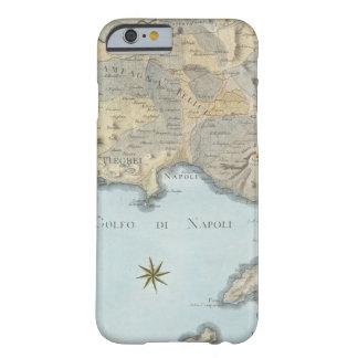 Karte des Golfs von Neapel und von Umgebung Barely There iPhone 6 Hülle