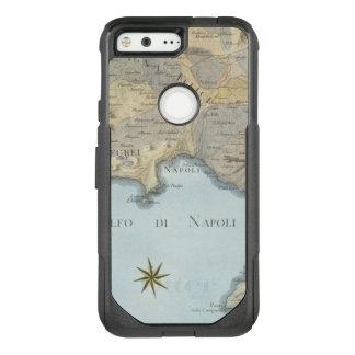 Karte des Golfs von Neapel und von Umgebung OtterBox Commuter Google Pixel Hülle