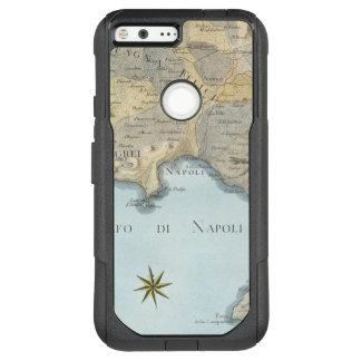 Karte des Golfs von Neapel und von Umgebung OtterBox Commuter Google Pixel XL Hülle