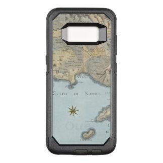 Karte des Golfs von Neapel und von Umgebung OtterBox Commuter Samsung Galaxy S8 Hülle