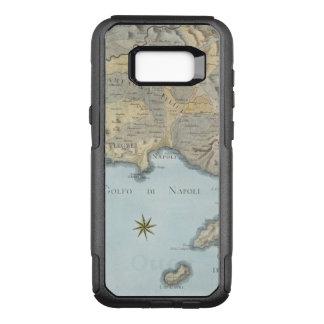 Karte des Golfs von Neapel und von Umgebung OtterBox Commuter Samsung Galaxy S8+ Hülle