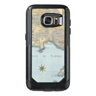 Karte des Golfs von Neapel und von Umgebung OtterBox Samsung Galaxy S7 Hülle