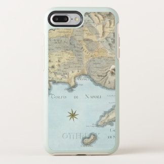 Karte des Golfs von Neapel und von Umgebung OtterBox Symmetry iPhone 8 Plus/7 Plus Hülle