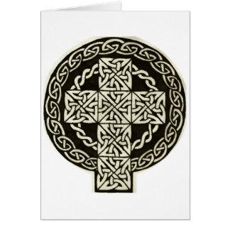 Karte des keltischen Kreuzes