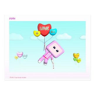 Karte Dora - alle Liebe ist
