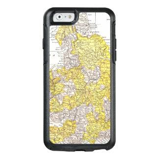 KARTE: ENGLAND U. WALES OtterBox iPhone 6/6S HÜLLE
