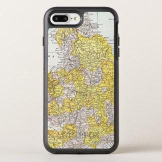 KARTE: ENGLAND U. WALES OtterBox SYMMETRY iPhone 8 PLUS/7 PLUS HÜLLE