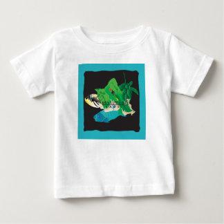 Karte Hawaiis Oahu - Hanauma Bucht Baby T-shirt