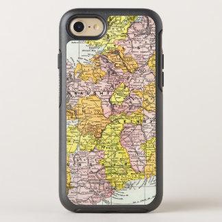 KARTE: IRLAND, c1890 OtterBox Symmetry iPhone 8/7 Hülle