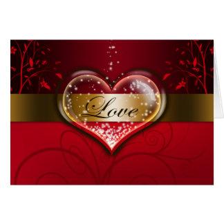 """Karte """"Liebe"""" Valentines Tages"""