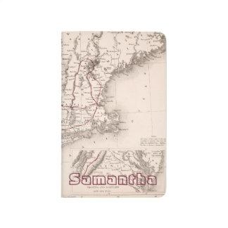 Karte: Nordost-USA Taschennotizbuch