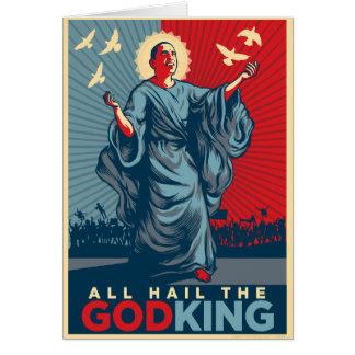 Karte Obama-Gott-König-Gruß