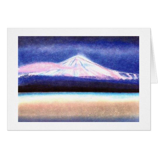 "Karte Pastell-Art Motiv ""Traum vom Teide"""