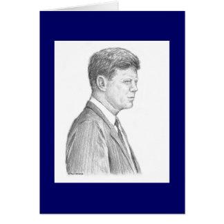 "Karte Pauls McGehee ""John F. Kennedy"""