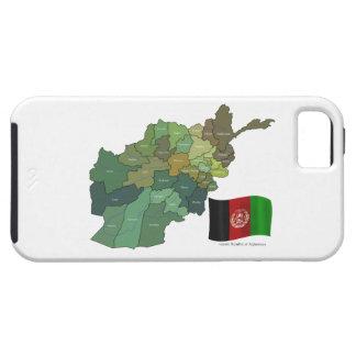 Karte und Flagge von Afghanistan Etui Fürs iPhone 5