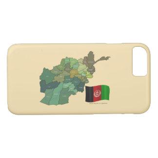Karte und Flagge von Afghanistan iPhone 8/7 Hülle