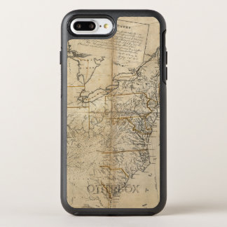 KARTE: USA, 1783 OtterBox SYMMETRY iPhone 8 PLUS/7 PLUS HÜLLE