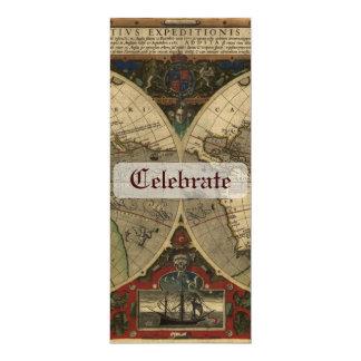 Karte Veras Totius Expeditionis Personalisierte Ankündigung