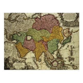 Karte von Asien, Nürnberg, c.1730