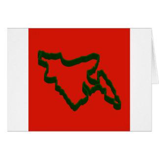 Karte von Bangladesch