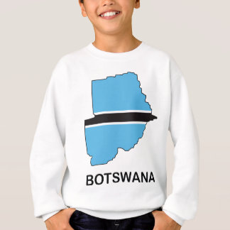 Karte von Botswana Sweatshirt