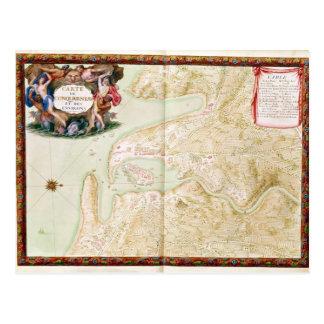 Karte von Concarneau