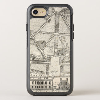 Karte von Greenwich-Park OtterBox Symmetry iPhone 8/7 Hülle