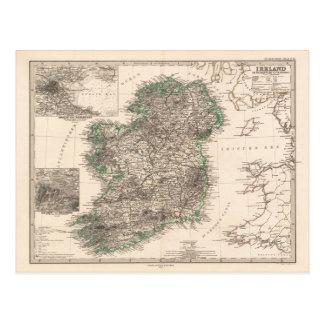 Karte von Irland (1876)