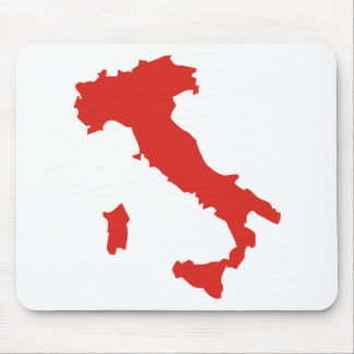 Karte von Italien Mauspads