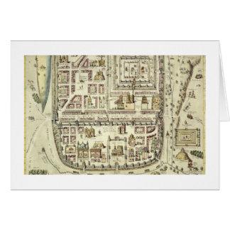 Karte von Jerusalem und von Umgebung, von 'C