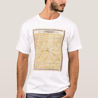 Karte von Montgomery County T-Shirt
