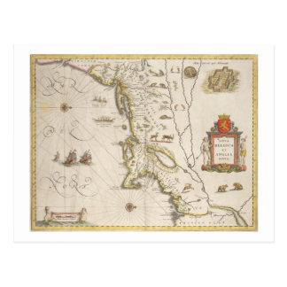 Karte von neuem Belgien und von Neu-England,