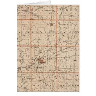 Karte von Putnam County