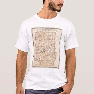 Karte von Putnam County T-Shirt