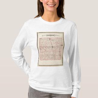 Karte von Randolph County T-Shirt