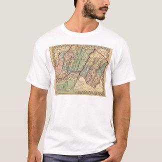 Karte von Randolph, Pendleton-Landkreise T-Shirt