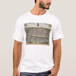 """Karte von Sevilla, von """"Civitates Orbis Terrarum"""" T-Shirt"""