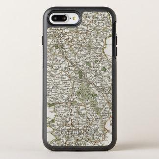 KARTE VON STAFFORDSHIRE, 1793 OtterBox SYMMETRY iPhone 8 PLUS/7 PLUS HÜLLE