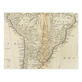 Karte von Südamerika 2