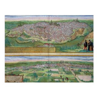 Karte von Toledo und von Valladolid, von
