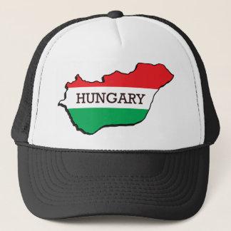 Karte von Ungarn Truckerkappe