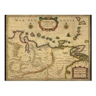 Karte von Venezuela durch Hendrik Hondius (1630)