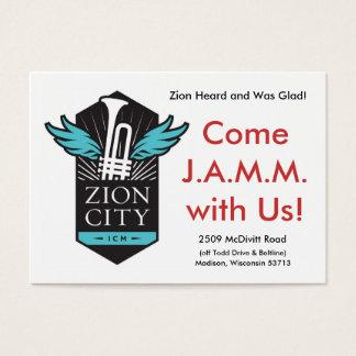 Karte Zion Stadt-J.A.M.M.