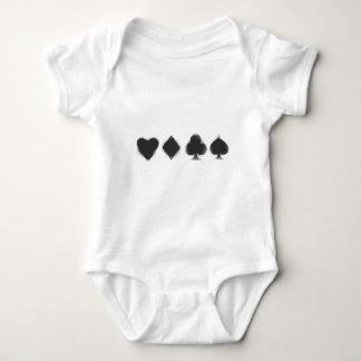 Karten-Anzüge - Grunge Baby Strampler