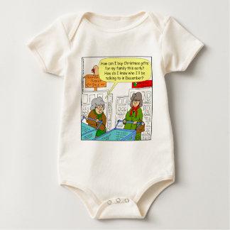 Karten-Cartoon des Kaufes x65 Weihnachts Baby Strampler