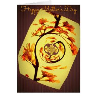 Karten der Mutter Tages