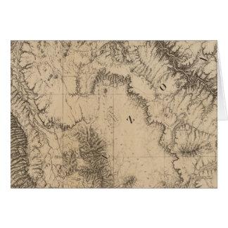 Karten-, Fluss- und Land-Partys Karte
